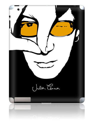 Julian Lennon (Colour Face iPad 2/3 Skin) iPad 2/3 Skin