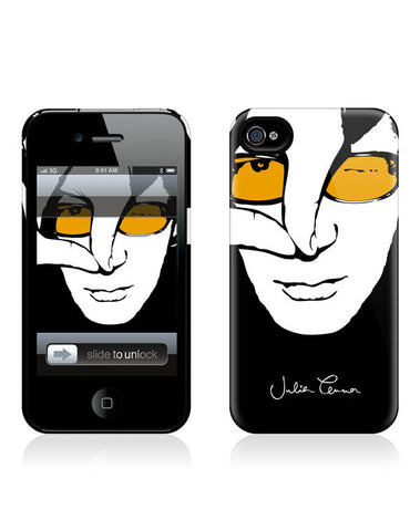 Julian Lennon (Colour Face iPhone 4/4S Hard Case) iPhone 4/4S Hard Case