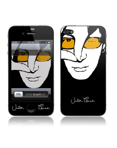 Julian Lennon (Colour Face iPhone 4/4S Skin) iPhone 4/4S Skin
