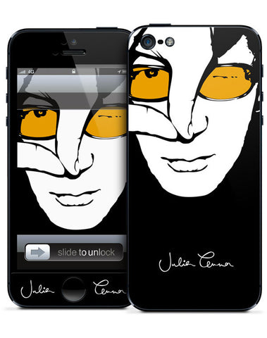 Julian Lennon (Colour Face iPhone 5 Skin) iPhone 5 Skin