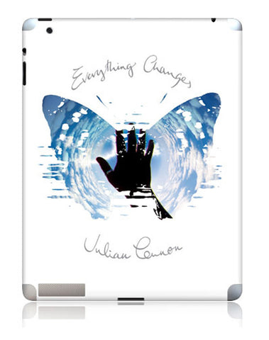 Julian Lennon (Everything Changes) iPad 2/3 Skin