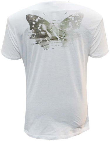Julian Lennon (First Rose T-Shirt) White Scoop Neck T-Shirt
