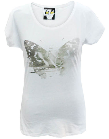 Julian Lennon (First Rose With Signature) White T-Shirt