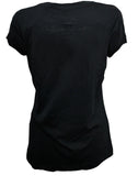 Julian Lennon (First Rose With Signature) Black T-Shirt