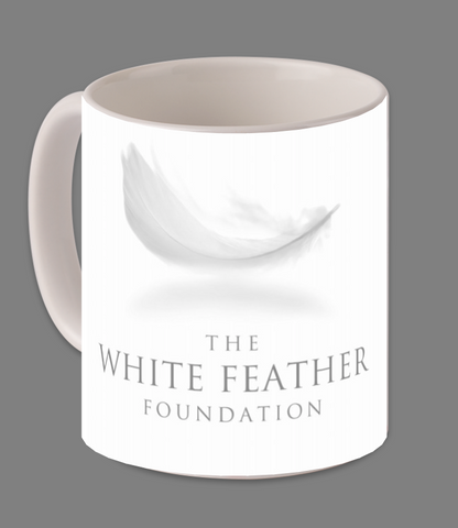 White Feather Foundation Magic Mug - White
