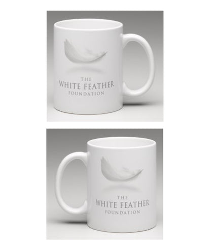 White Feather Foundation 325ml Mug - White