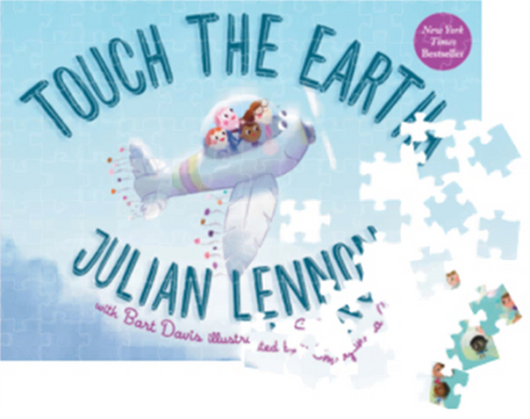 'Touch The Earth' 63 Piece Jigsaw Puzzle