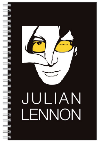Julian Lennon Logo Note Book