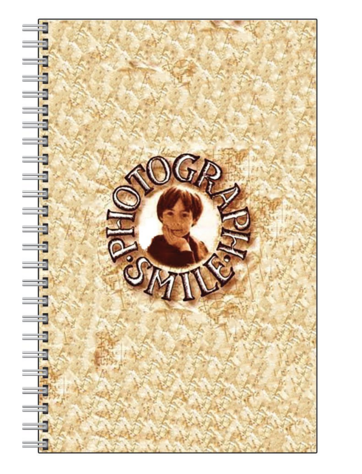 Photograph Smile Note Book