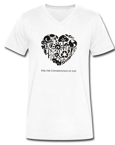 The White Feather Foundation White Apparel T-Shirt