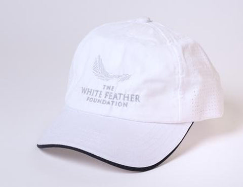 Embroided Microfiber Cap by Fahrenheit - White