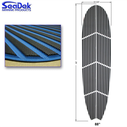 88 inch x 22 inch Stand Up Paddleboard Pad - 2 Color