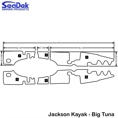 Jackson Kayak - Big Tuna - 2013