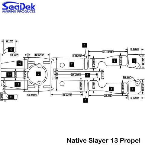 Native Watercraft - Slayer 13 Propel - 2014