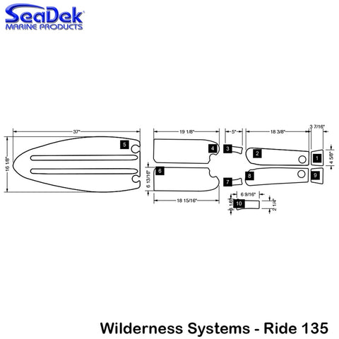 Wilderness Systems - Ride 135 - 2013-2015