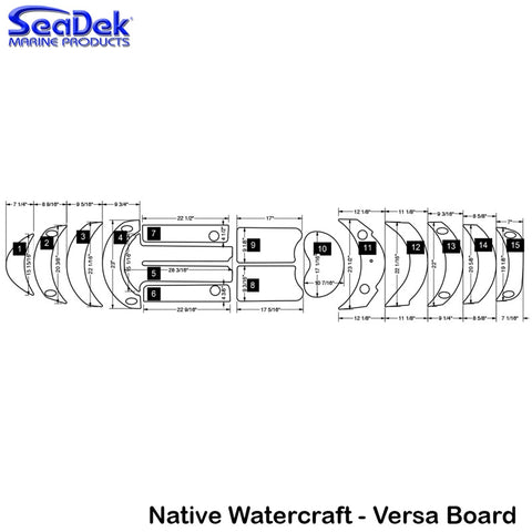 Native Watercraft - Versa Board - 2013