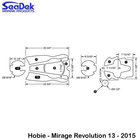 Hobie - Mirage Revolution 13 - 2015