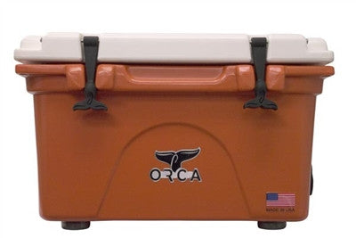 ORCA 26 Quart Burnt Orange/White