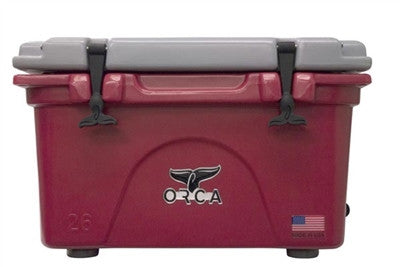 ORCA 26 Quart Crimson/Grey