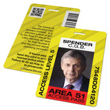 Area 51 Access ID Badge Card (X-Files)