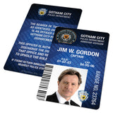Gotham Police Dept ID Badge (Batman vs Superman, Batman Begins, The Dark Knight Rises)