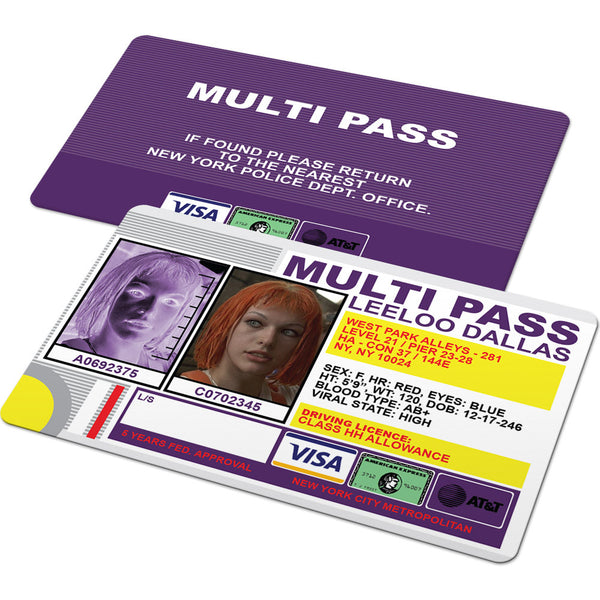 Multi Pass (The Fifth Element Multipass)