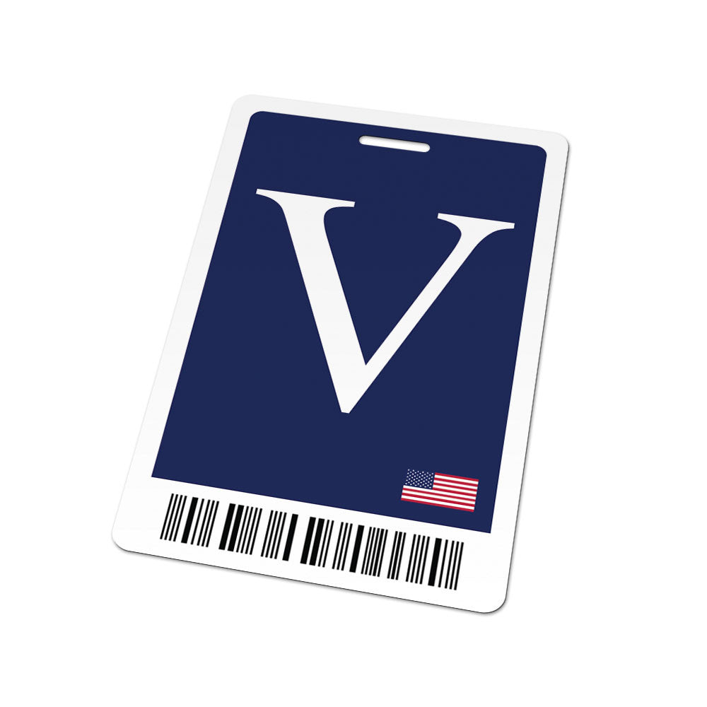 id card white house visitor pass badge card from house of cards