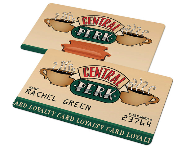 Central Perk Loyalty Card (Friends TV Show)