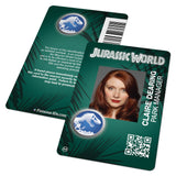 Jurassic World ID Badge (Screen Accurate)