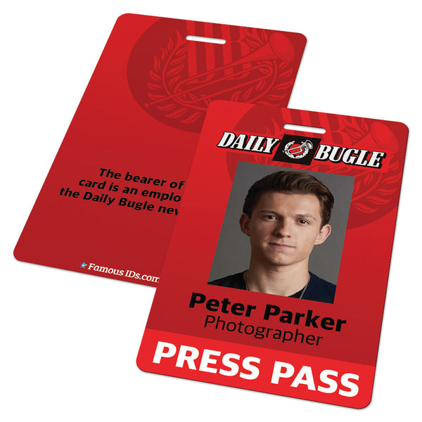 The Daily Bugle Press Pass (Spider-Man Spiderman)