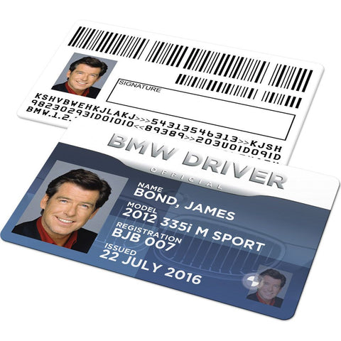BMW Drivers License (Owner Licence)