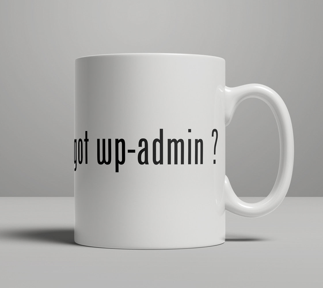 WordPress Got WP-Admin Coffee Mug