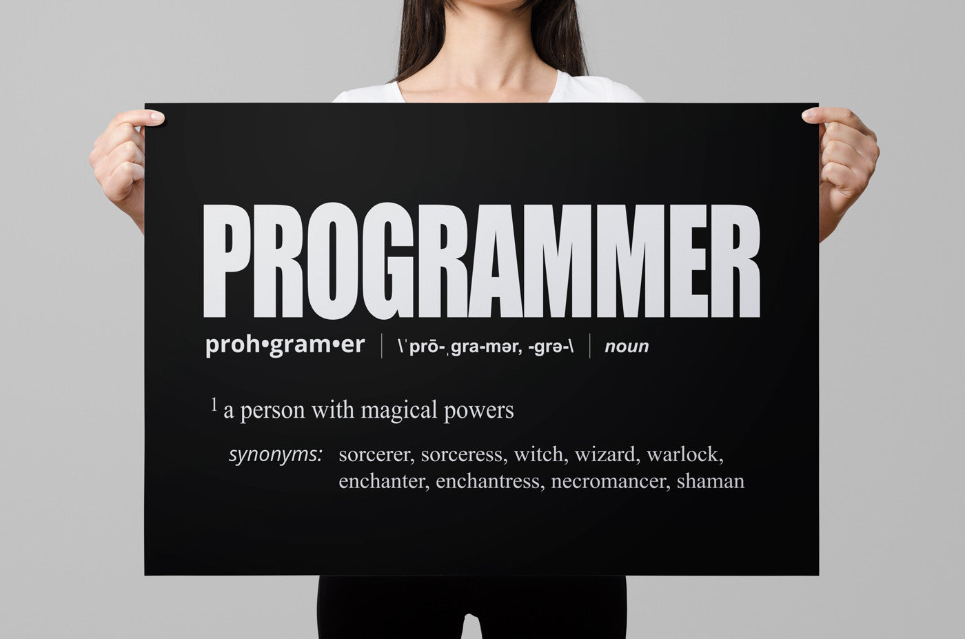 Definition of a poster design - Programmer Definition Poster Codeaddict