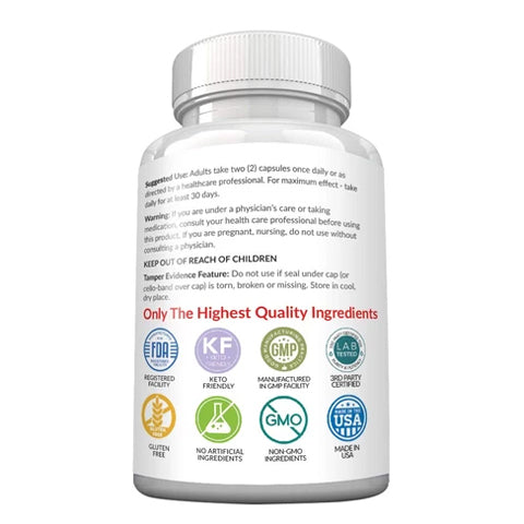 Apple Cider Vinegar Capsules with Mother + Keto BHB – MaxxLabs