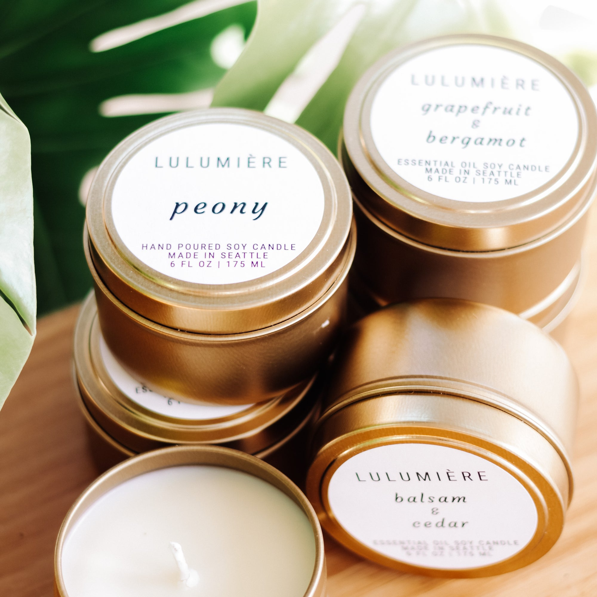 Lulumiere, Travel Tin Candles