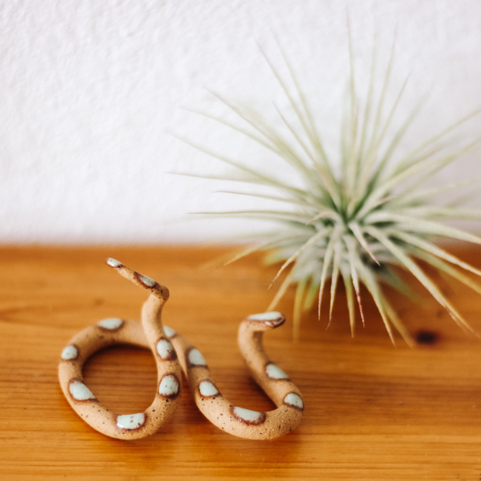 Carter and Rose, Small Ceramic Snakes