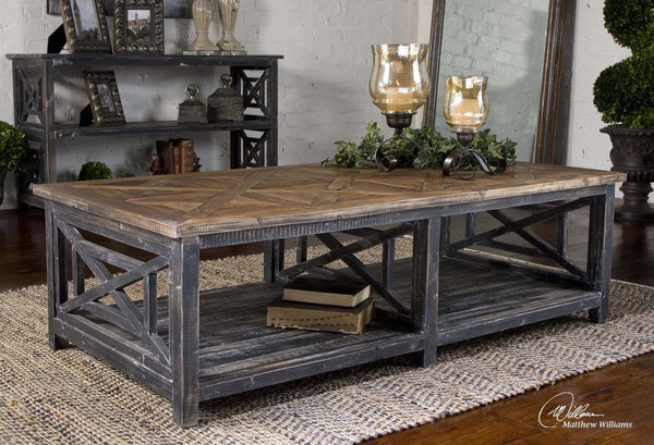 Elevation Reclaimed Wood : Spiro reclaimed wood cocktail table southern elevation