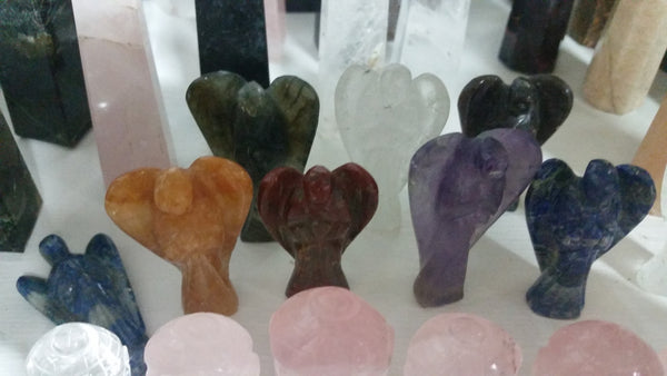 Angels (mixed stone)