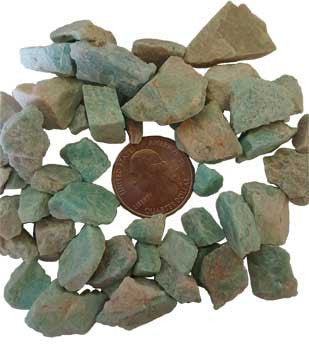 Amazonite Untumbled Small