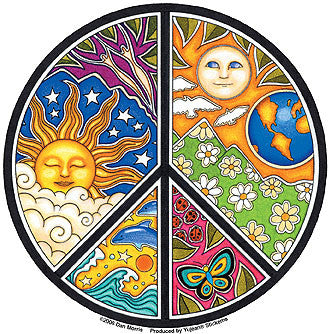 Celestial Peace Sticker