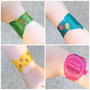 If I'm Lost: Emergency Contact Temporary Tattoo Watches - 16