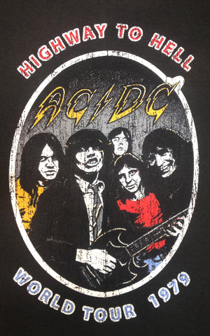 ACDC Highway To Hell Rock Tee