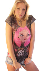 Alice in Nirvana Burnout Tee