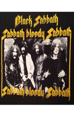 Black Sabbath Bloody Sabbath Rock Tee