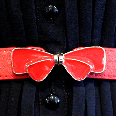 Bow Buckle Belt