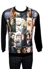 GOT Cast Of Thrones Print Sweatshirt