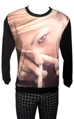Enjoy Coke Print Sweatshirt