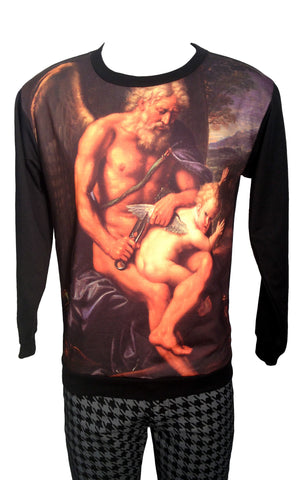 Bad Cupid Print Sweatshirt