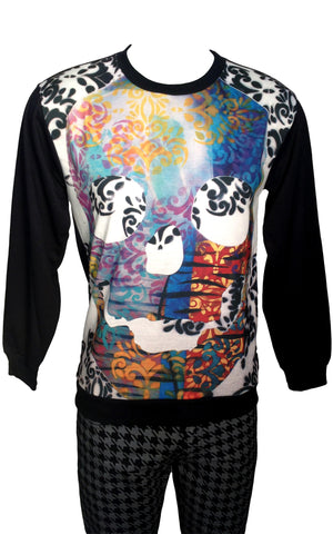 Romance And Death Print Sweatshirt