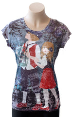Hansel and Gretel Burnout Tee